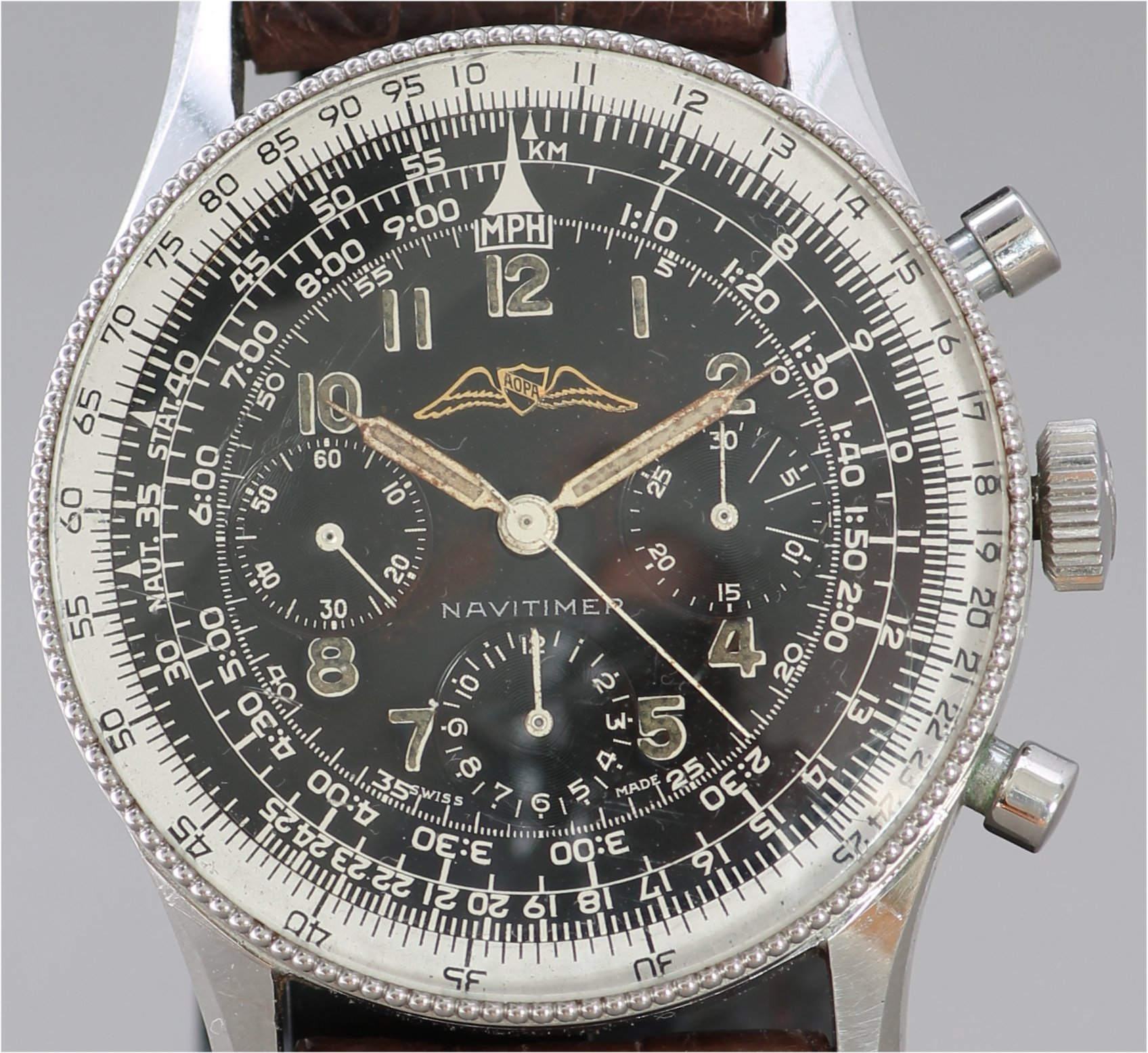 2d6259432 Breitling Navitimer 1954 with Valjoux 72 movement - Vintage ...
